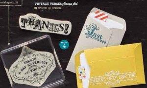 Vintage Verses