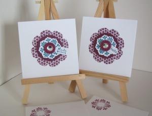 Floral Framelits cards - edited