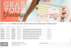 grab your greetings details